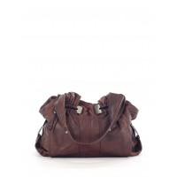 B Makowsky Women Leather Hobo Brown Solid 38084947 KITJYZF